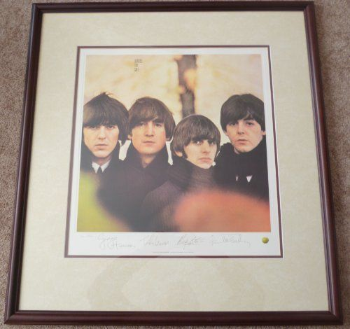 THE BEATLES Beatles For Sale RECORD ART Framed Album LP Cover Print ...