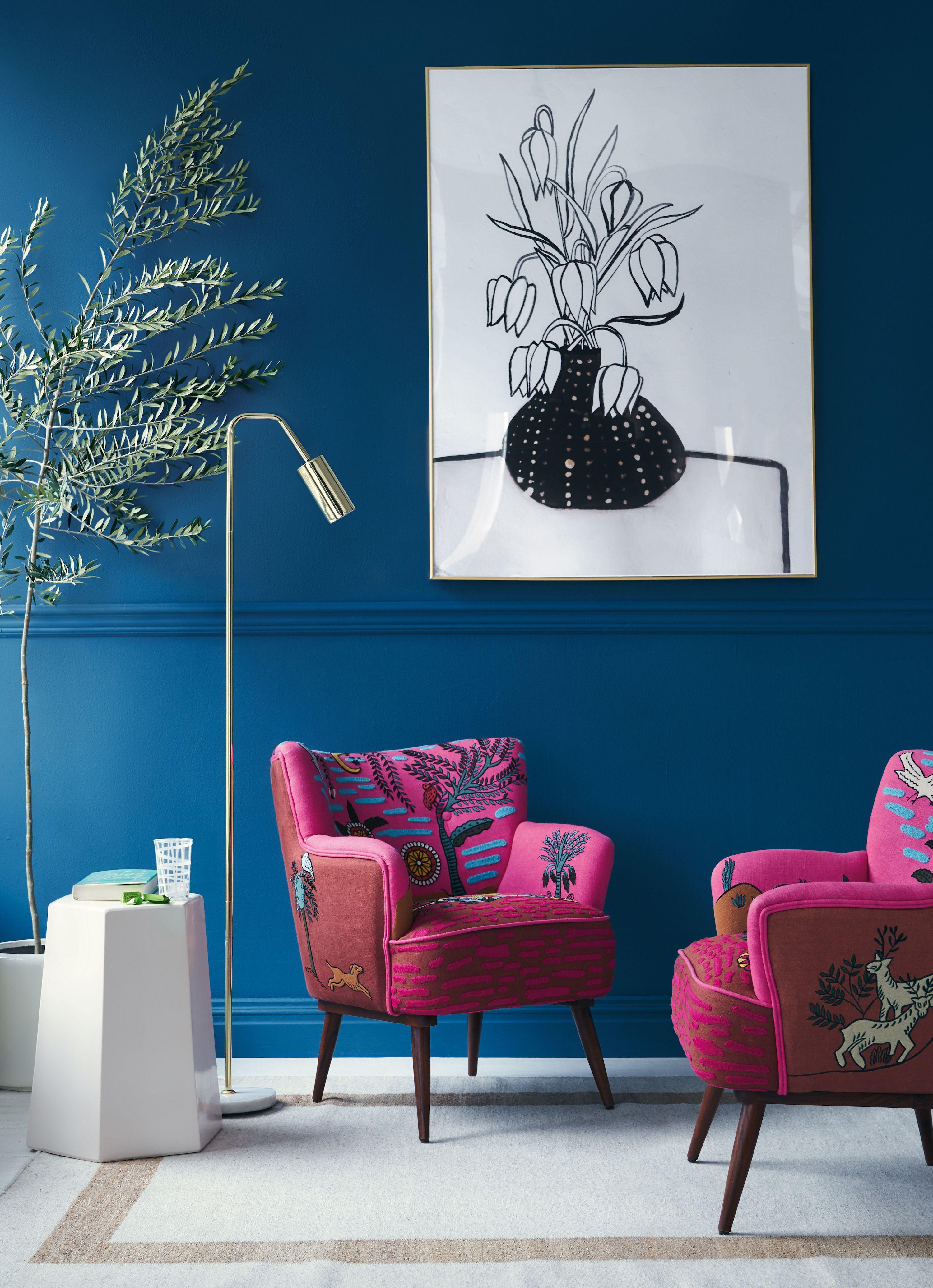 Imagined World Petite Accent Chair | Illustration | Mobilier de ...
