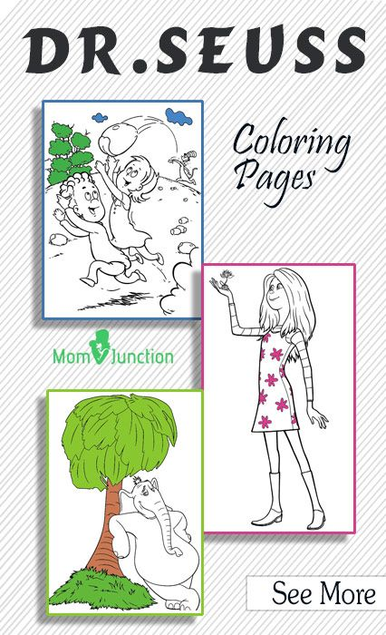 Top 20 Free Printable Dr Seuss Coloring Pages Online Med Billeder