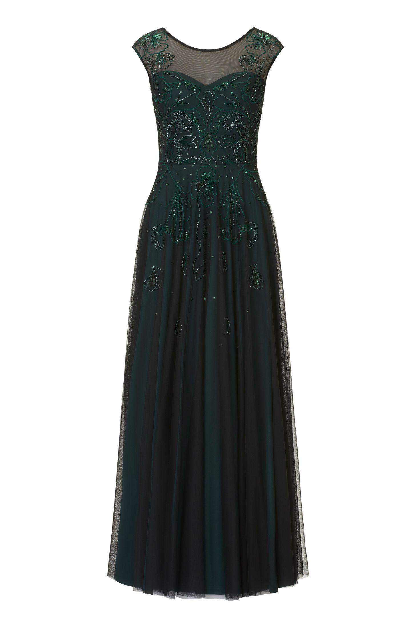 fe693fedf8da Langes festliches Kleid in 2018   Mode für Brautmütter   Pinterest ...