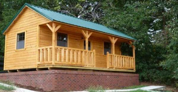 These Cute Cabins Have A 1000sqft Footprint Small Lake Cabins Small Log Cabin Pre Built Cabins