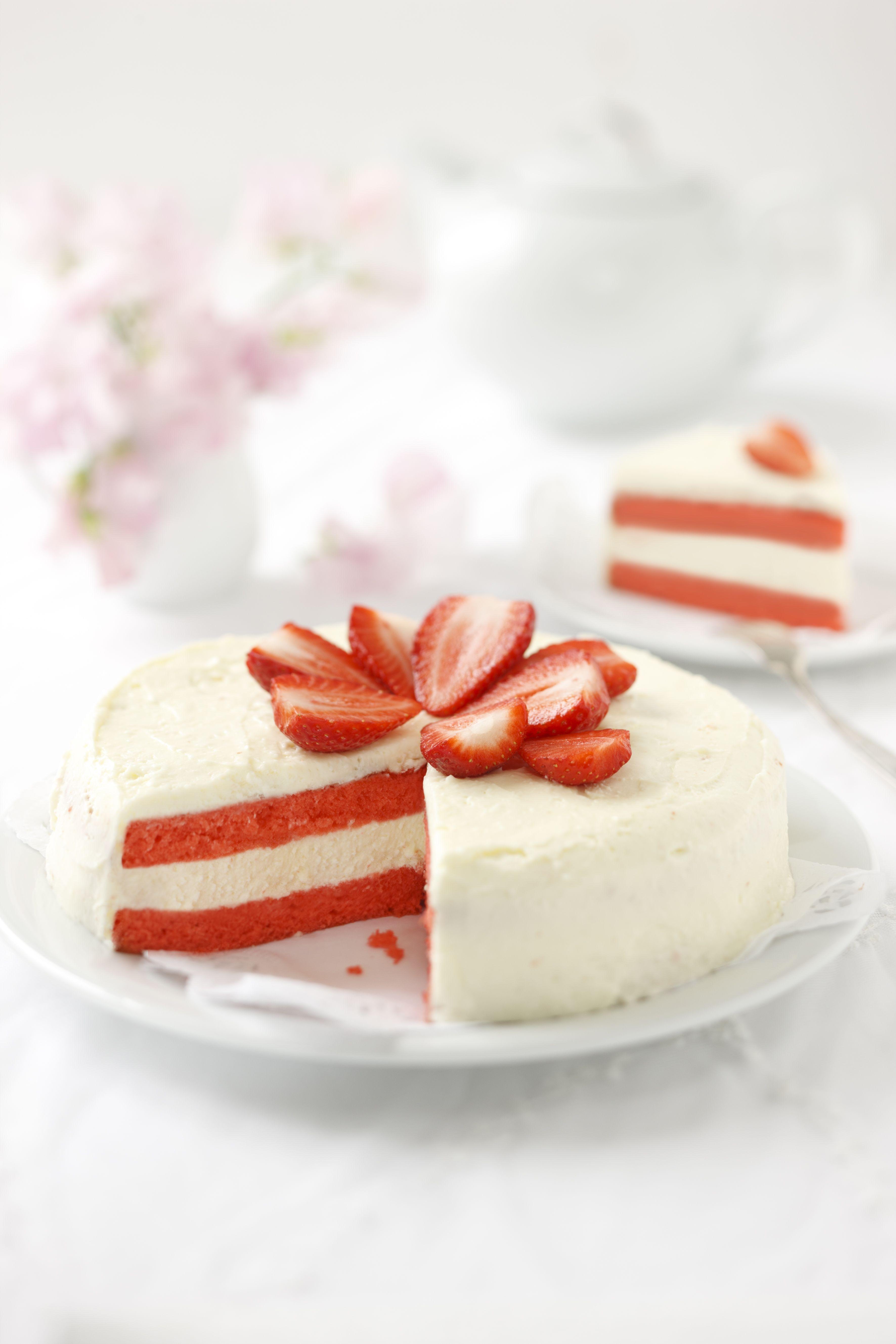 Made In Austria Torte Erdbeertorte Rezept Backen Kuchen