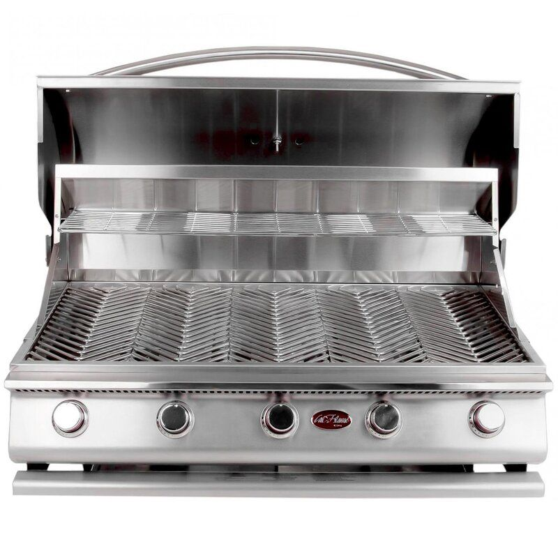 G Series 5 Burner Built In Propane Gas Grill With Images Outdoor Kitchen Outdoor Kitchen Design Propane Gas Grill