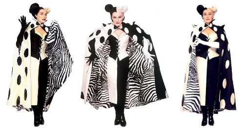 Glenn Close Cruella De Vil Costume Google Search Drag Clothing