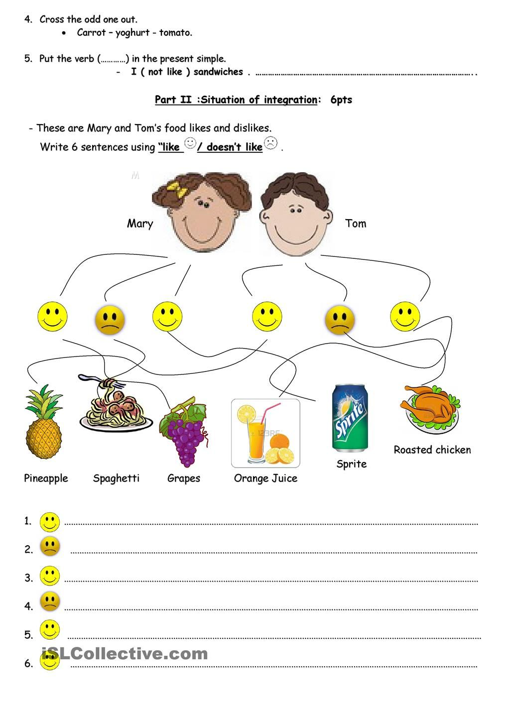 worksheet Word Order Worksheets what is your favourite food product pinterest word orderworksheetswhat