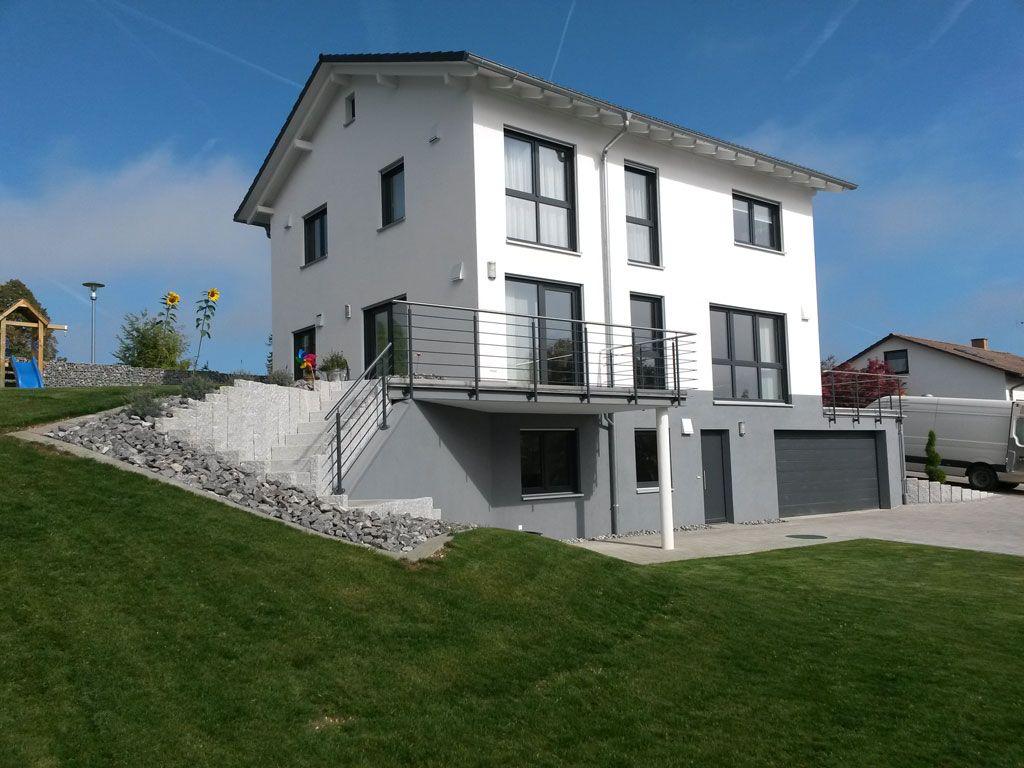 Individuelle Hausplanung Hanghaus U0026 Mediterran   OPTA Massivhaus ®. Moderne  ArchitekturMediterranHausbauTraumhausBalkonEinrichtungProjekteWohnenGarten