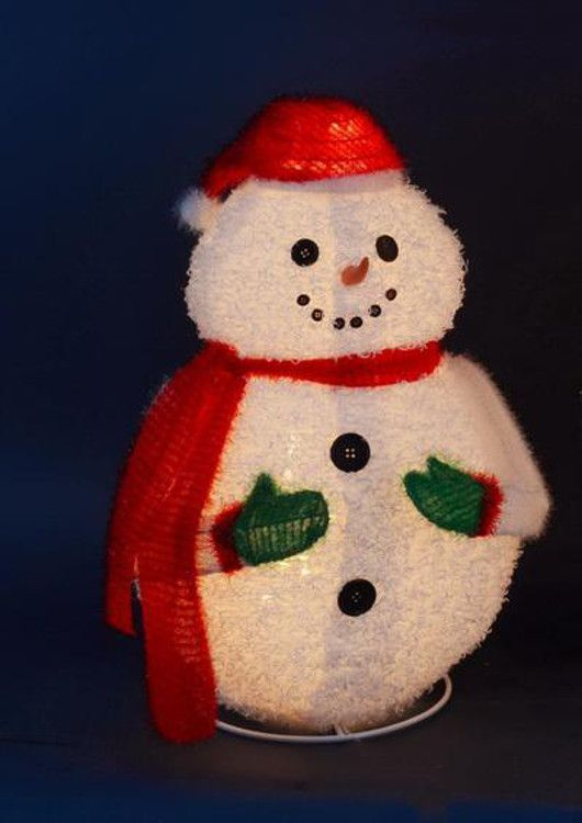 24\ - outdoor snowman christmas decorations