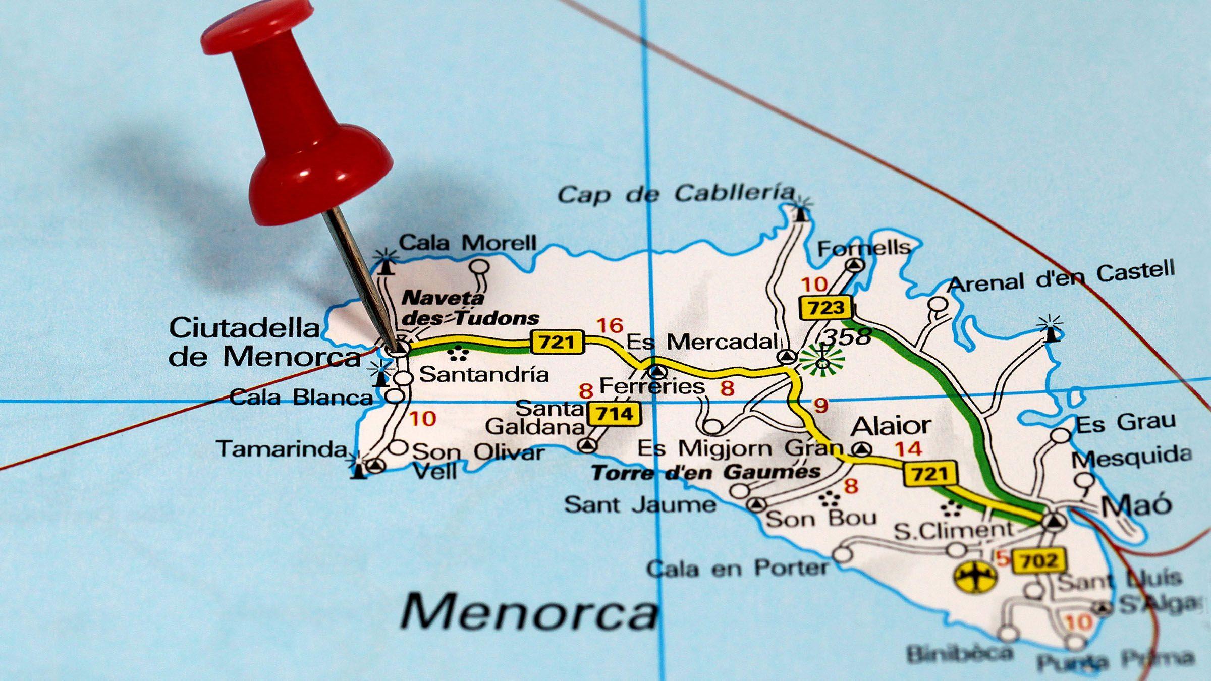 Carreteras que atraviesan menorca en las islas baleares - El mundo edicion baleares ...