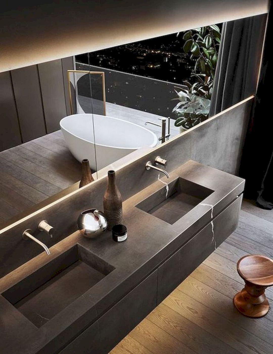 Best 7 Wonderful Modern Bathroom Sink Ideas That Look More Cool The Bathroom Sink Ideas Beco Modern Luxury Bathroom Bathroom Sink Design Bathroom Design Luxury