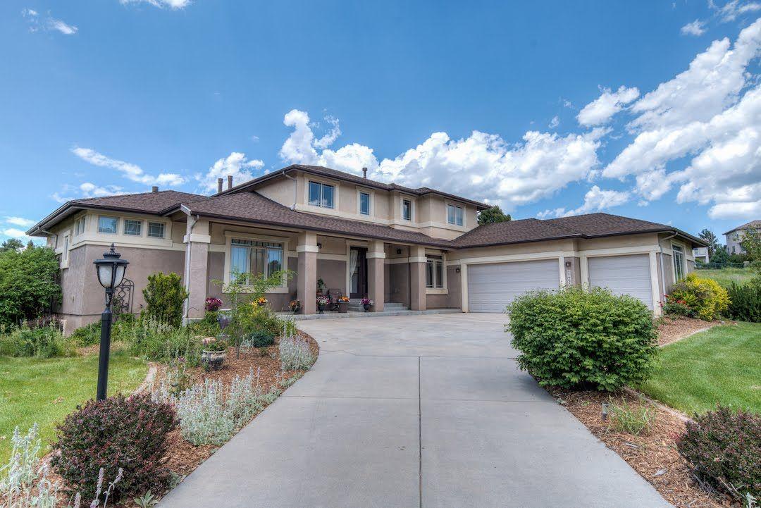 Aerial Showcase 2496 Willow Glen Dr Colorado Springs Co 80920