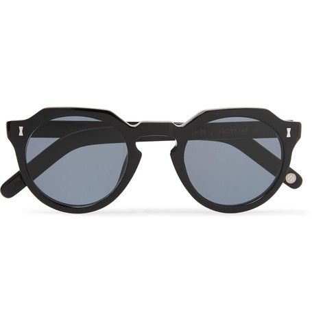 Gifford Round-frame Acetate And Silver-tone Sunglasses Cubitts