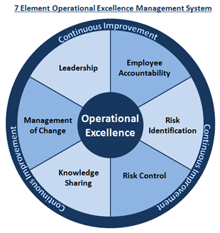 The 7 Element Operational Excellence Management System Our Big Idea Operational Excellence Management Skills Leadership Management