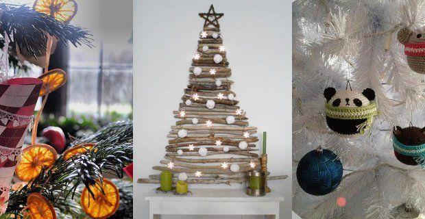 Decoración para Navidad original, alternativa, diferente de la