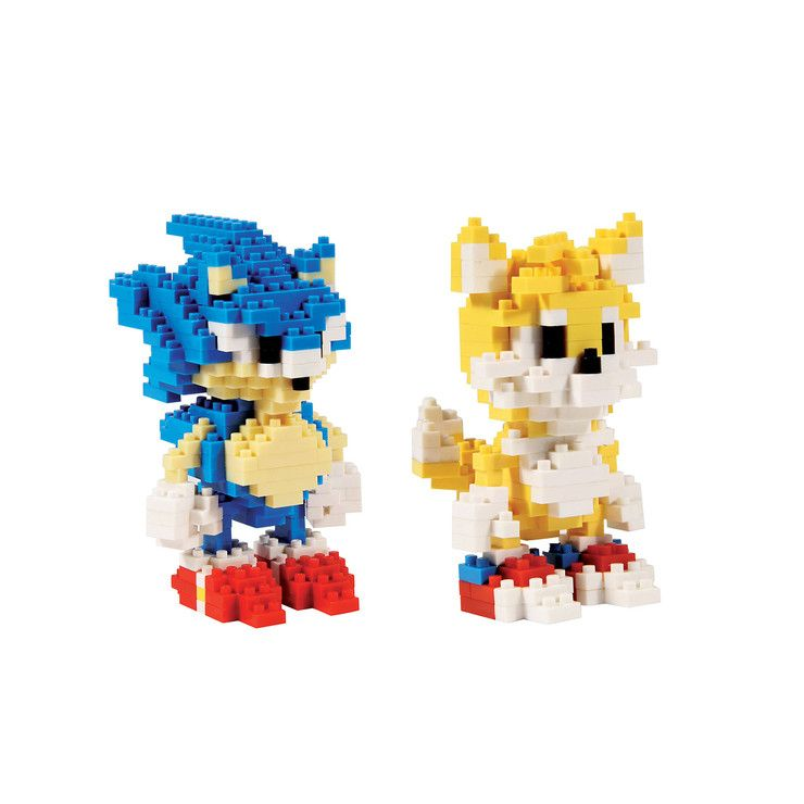 Ongekend Sonic HedgeHog & Tails Bricks by Paladone $24 | Places to visit YO-33