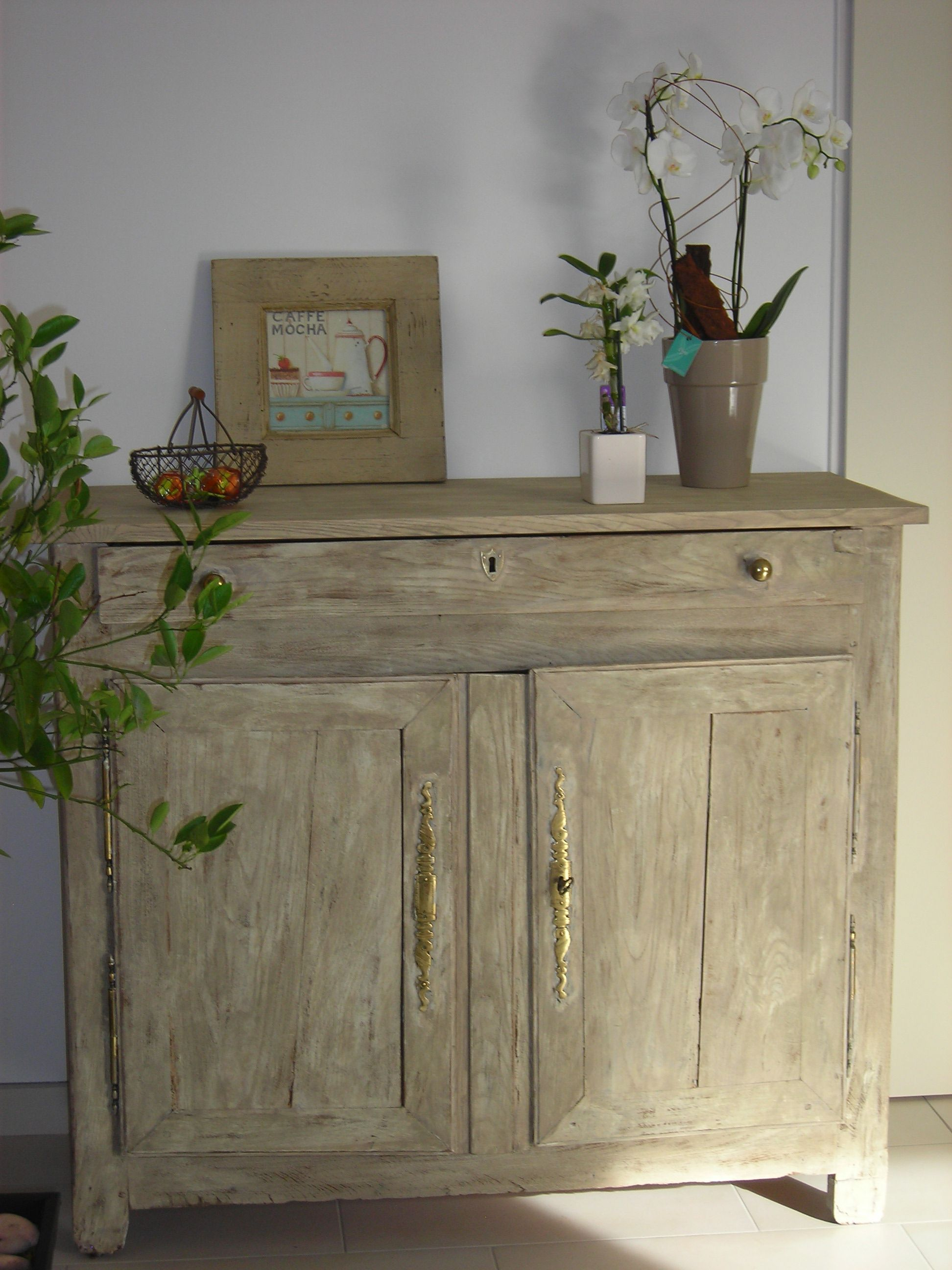 meubles ceruses et patines meuble tv ceruse blanc patine ceruse meuble meuble tele south shore. Black Bedroom Furniture Sets. Home Design Ideas