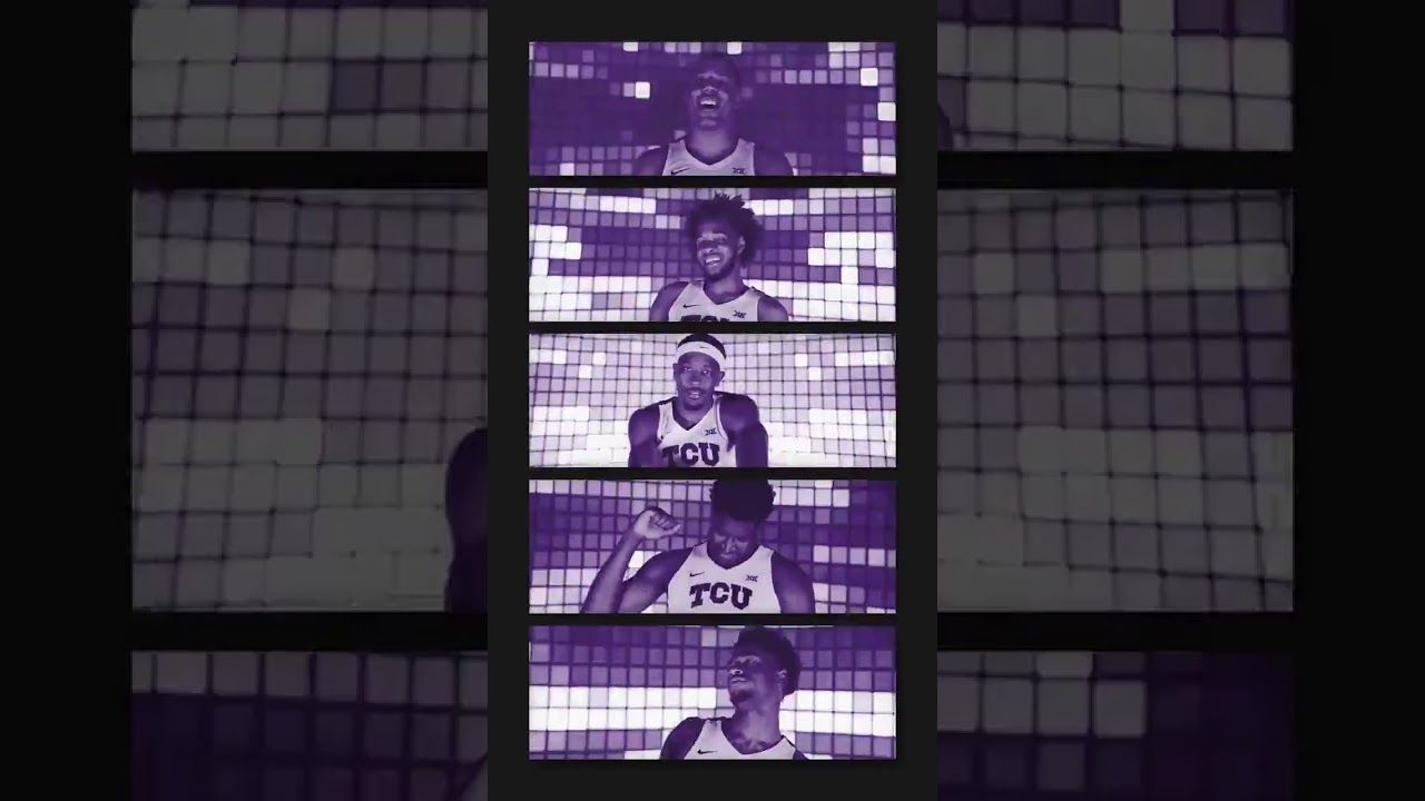 Pin By Skullsparks On Sports Gifs Video Motion In 2020 Tcu Sports Graphics College Athletics