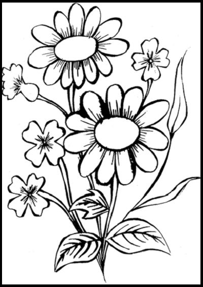 Como Dibujar Flores Faciles A Lapiz Hand Embroidery Art Flower Stencils Printables Floral Graphic Design