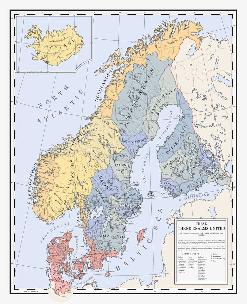 These Three Realms United A Restored Kalmar Union By Milites