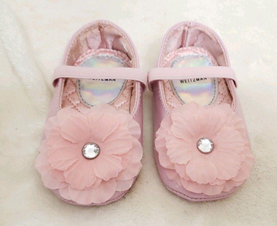 Stuart Weitzman Baby Bud Pink Shoe Size