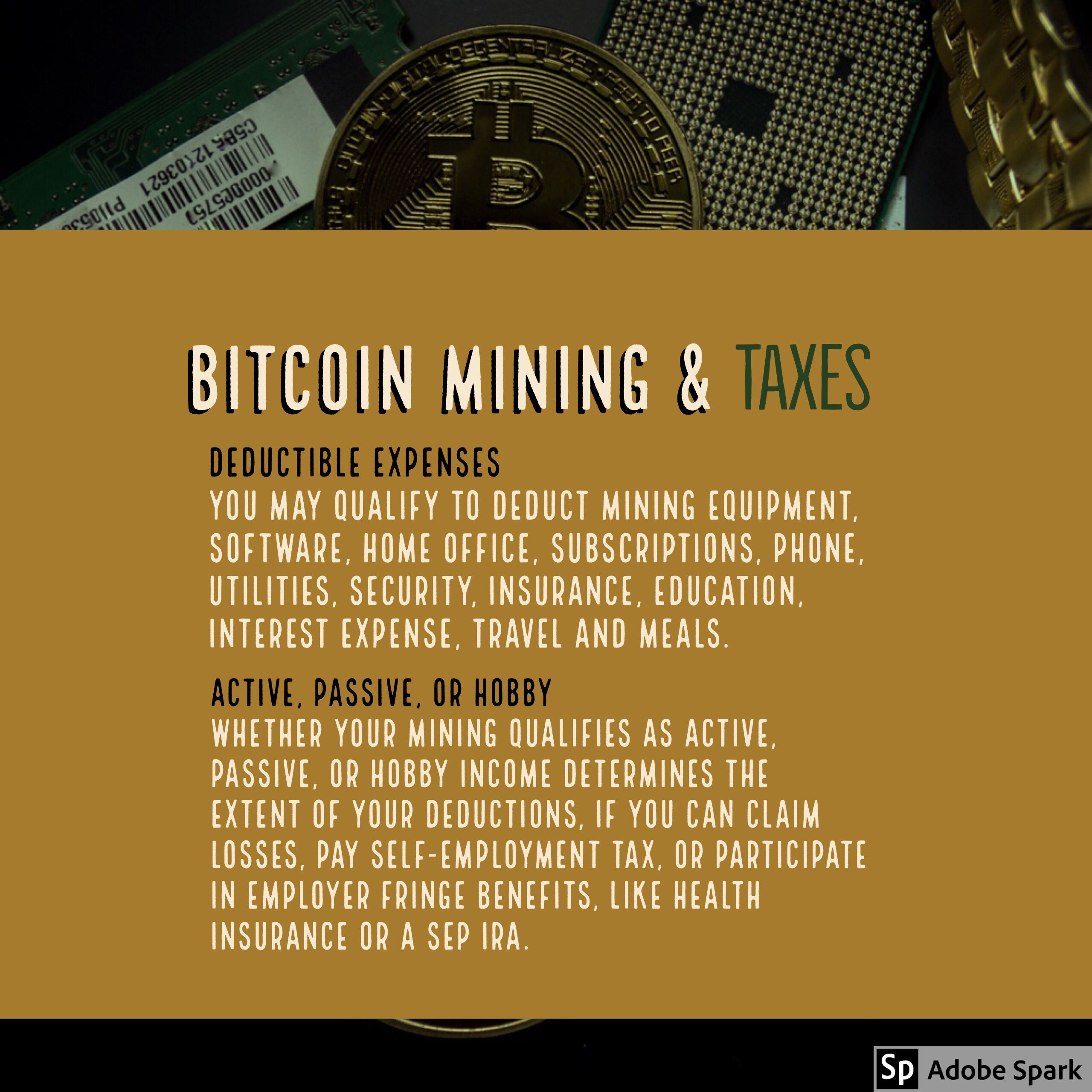 do you have to pay taxes for mining cryptocurrency