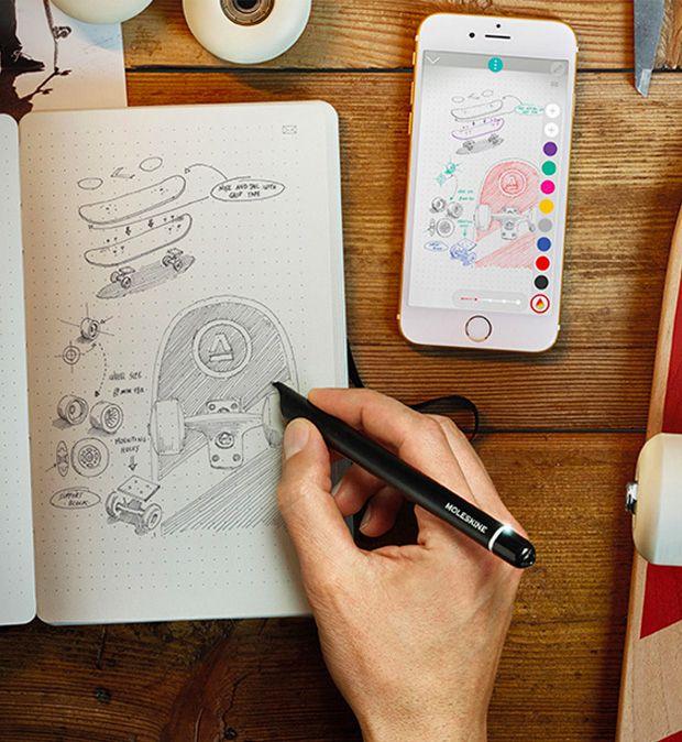 Moleskine Smart Writing Set Smart Pen Moleskine Innovative Gadget