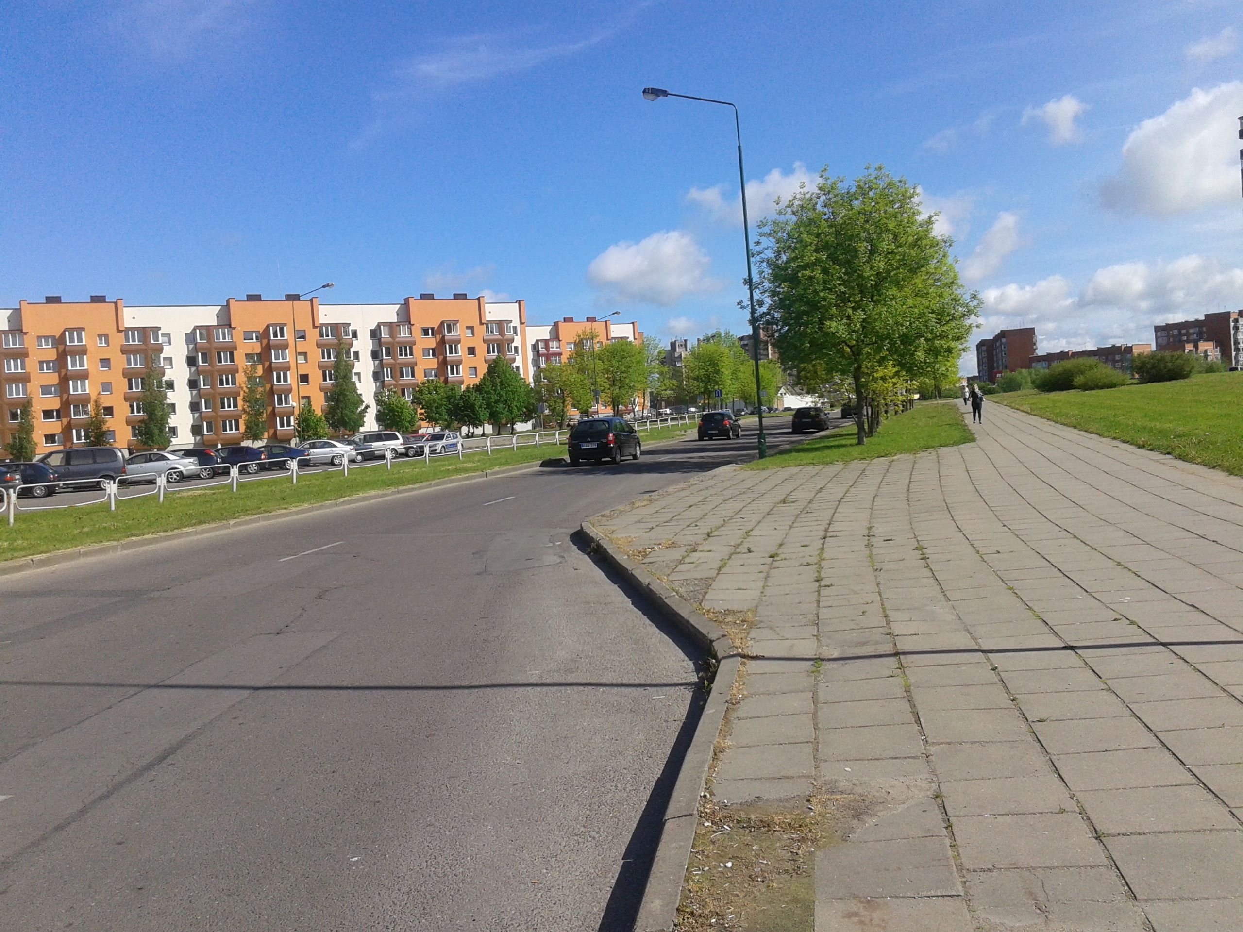 Район Виньге - Клайпеда.