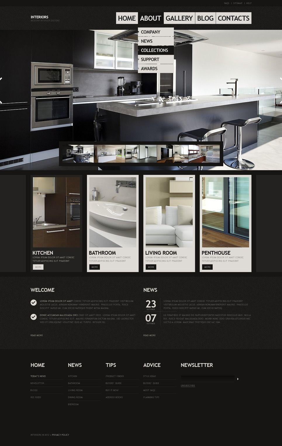 interior design website template design saves interior design rh pinterest com