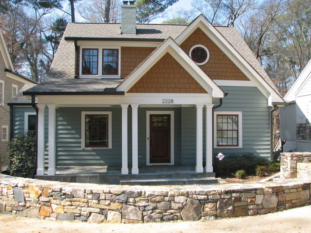 Interesting siding in craftsman style captivating for Craftsman style architects