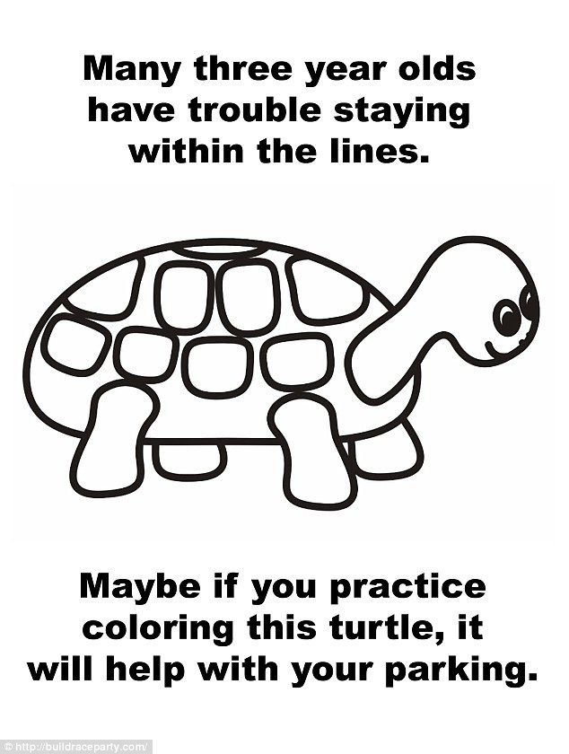 Best. Parking. Advice. Ever: A Turtle Color Page