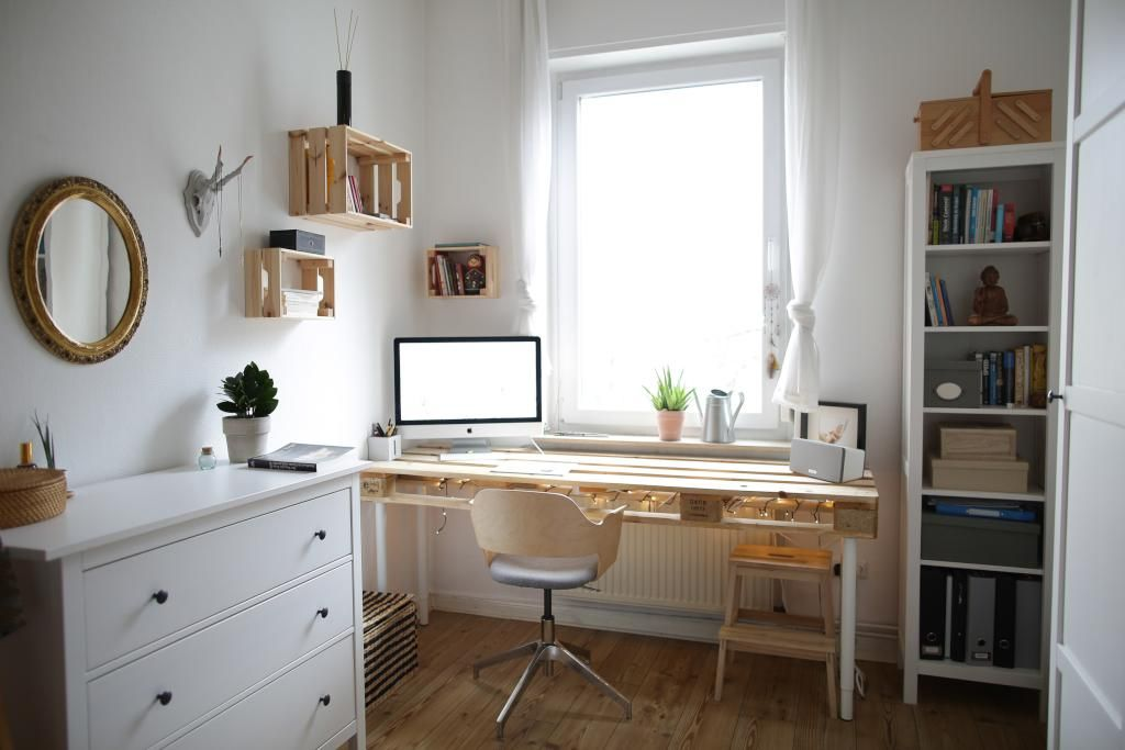 Tolle Idee F Rs Wg Zimmer Schreibtisch Zum Selbst Bauen