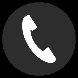 Telephone Black And White Icon Black And White Icon Icon Design