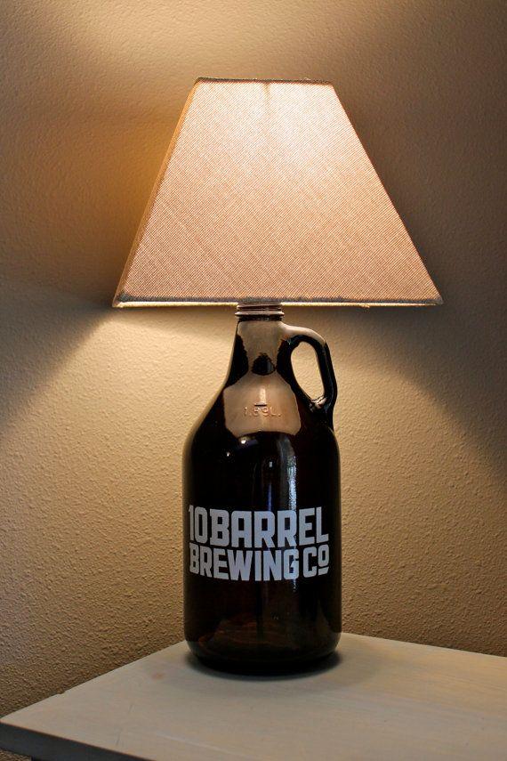 Beer GROWLER Lamp 10 Barrel Brewing Co