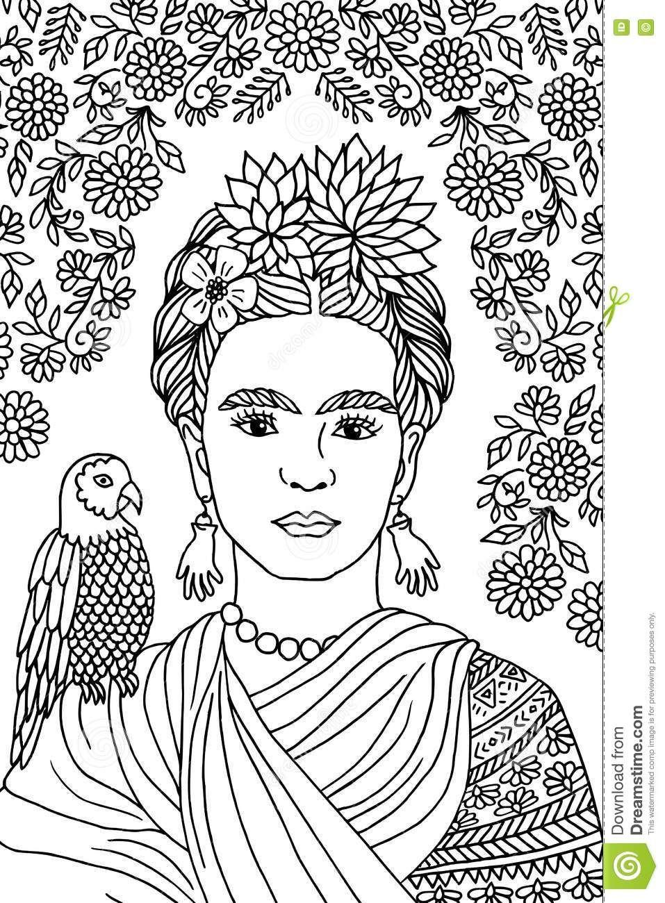 redaktionelles stockfoto portr c awesome frida kahlo ...