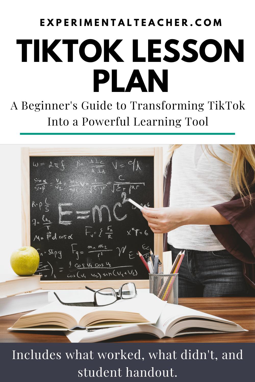 Tiktok Lesson Plan Teacher Blogs Lesson How To Plan