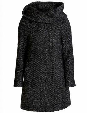 a654f84d071 Abrigo largo cuello envolvente de Vila Clothes