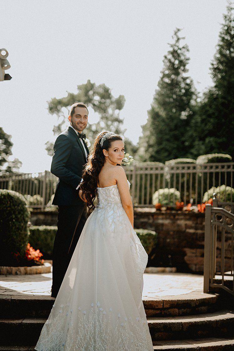 A Black Tie Glam Jewish Wedding at The Grove, Cedar Grove