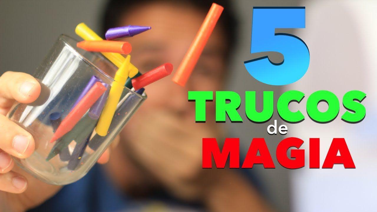 De Hacer Casa En Para Niños Fácil Muy Magia 5 Trucos Pw8ON0ZnkX