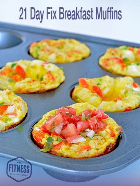 21 Day Fix Breakfast Muffin Recipe From The New Cookbook