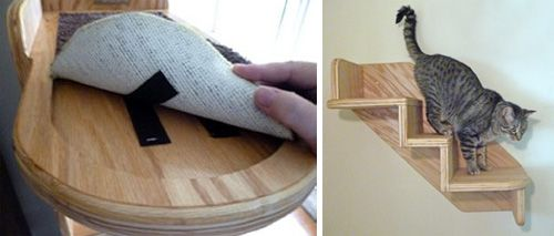 Wall Stairs For Your Cat!