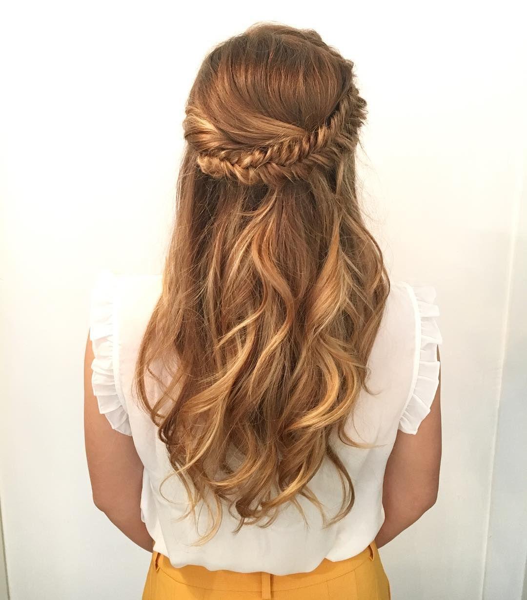 Ceccarello Clara On Instagram W E E D I N G G U E S T Merci Chloe Penderie Pour Ta Confiance Weedinghair Hairstyle Brai Coiffure Coiffeur Penderie
