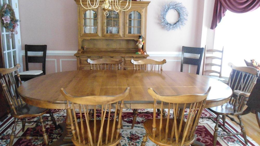 Perfect Dining Room Set Temple Stuart   Hutch, 6 Chairs, Table #TempleStuart Part 6