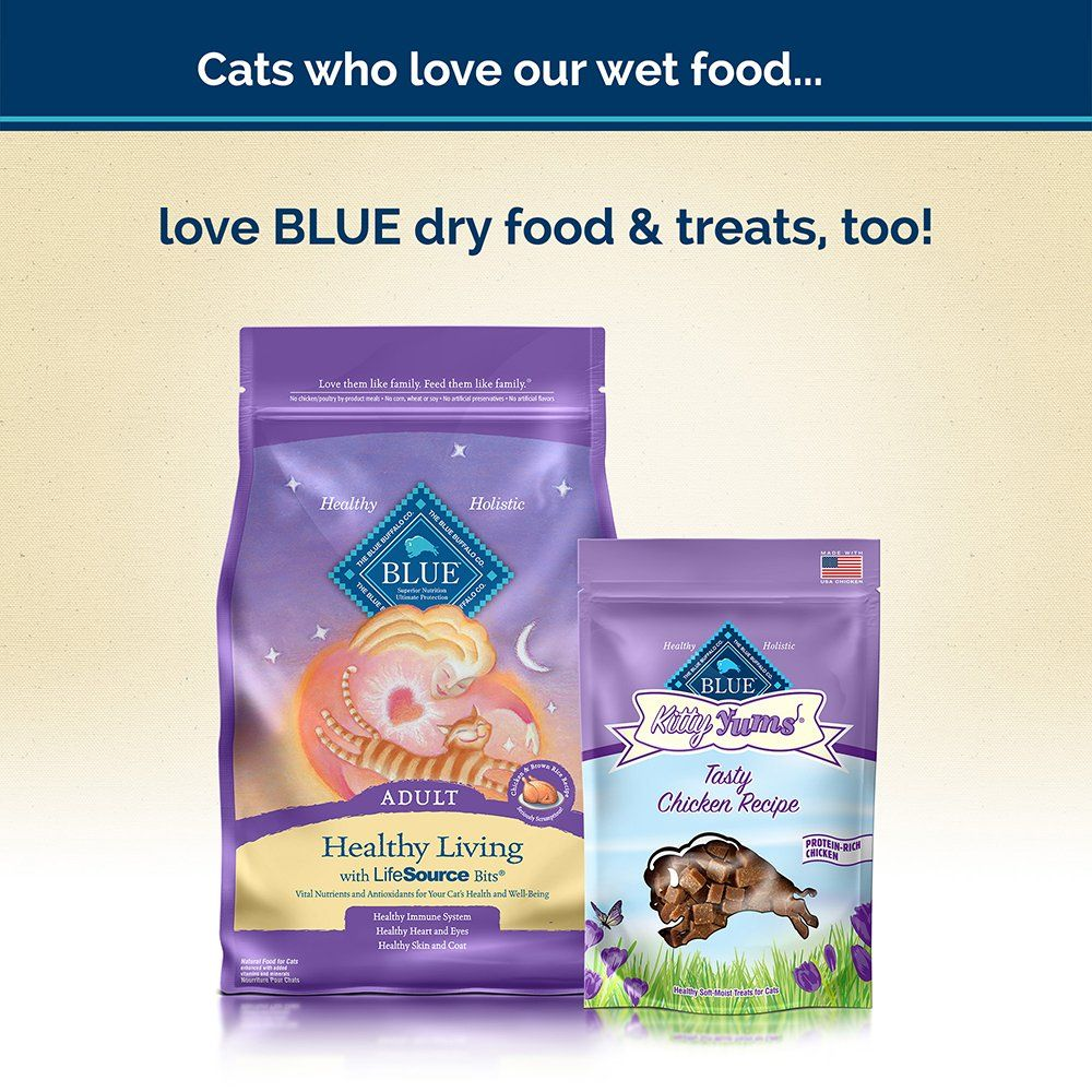 Blue Healthy Gourmet Adult Meaty Morsels Chicken Wet Cat Food 5 5