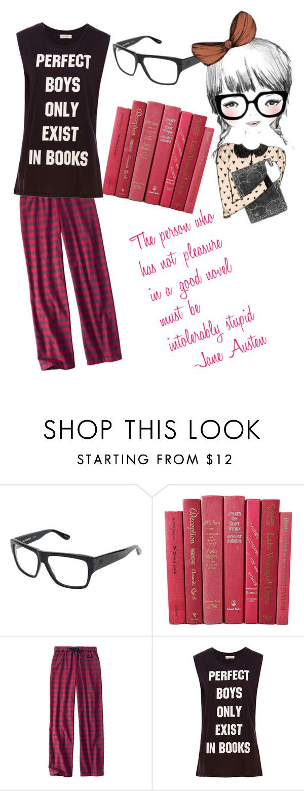 """Bookworm"" by jdmassmann ❤ liked on Polyvore featuring Woolrich and Pull&Bear"