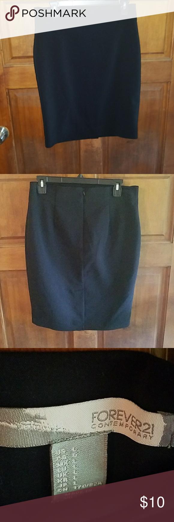 Pencil skirt Black pencil skirt Forever 21 Skirts Pencil
