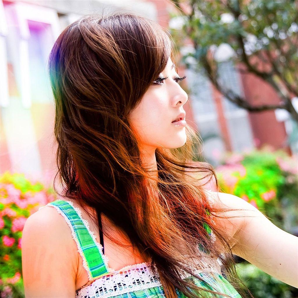 Cute Colorful Iphone Wallpaper: Sweet Asia Girl #iPad #Air #Wallpaper Download