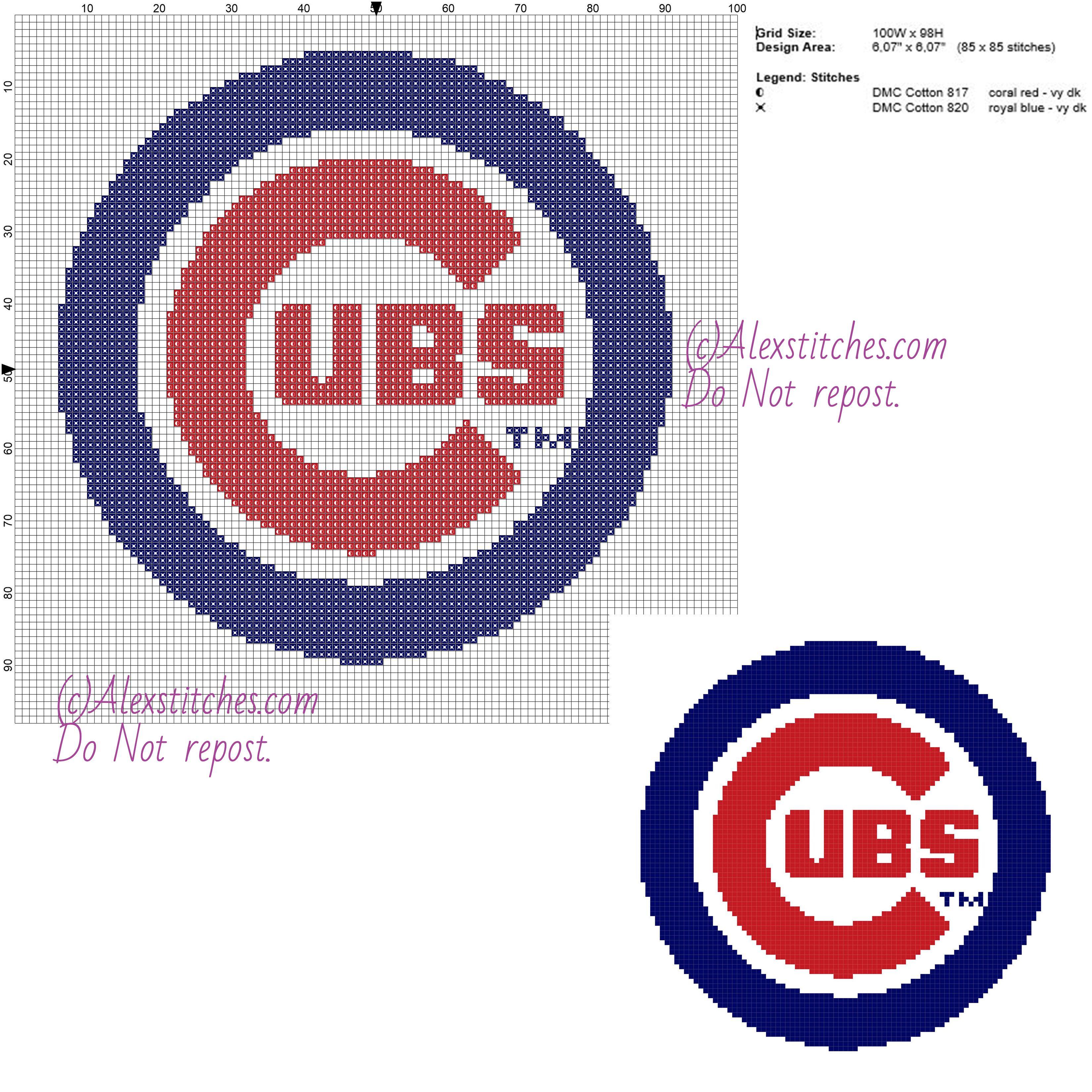 Chicago Cubs free logo Major League Baseball MLB cross ...