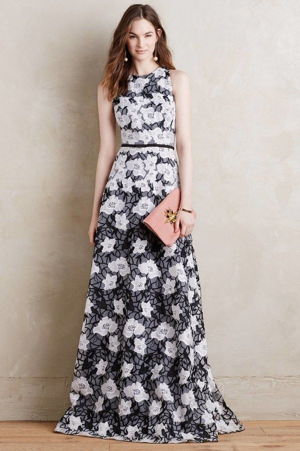 Erin Fetherston Lace Gown At Anthropologie 695