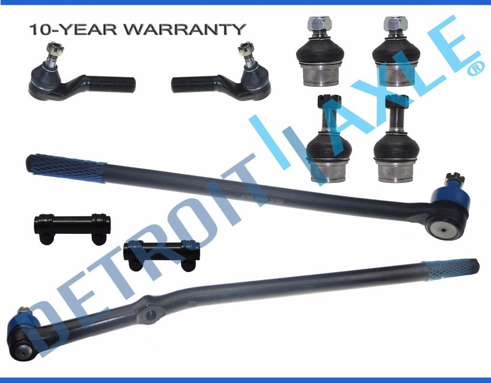 Brand New 10pc Complete Front Suspension Kit for 1995-1997 Ford F