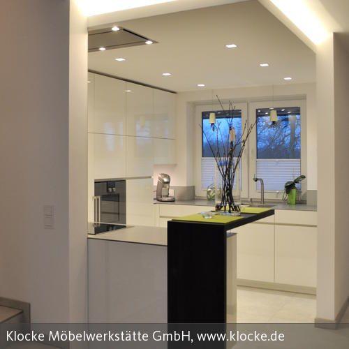 Küche nach Maß im Ruhrgebiet Dunstabzug, Integriert und Deckchen - küchenstudio kirchheim teck
