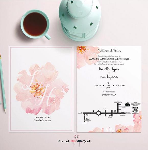 7 Stail Kad Kahwin Kad Kahwin Wedding Cards Wedding Card Design